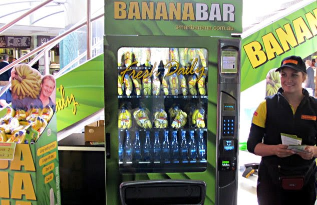 Banana Vending Machine launched by Banana Grower