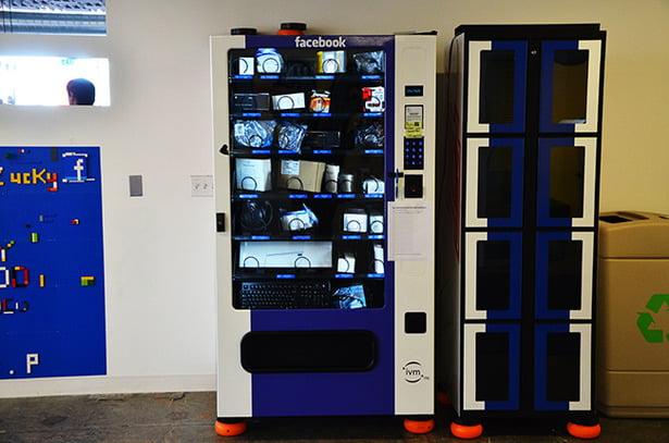 facebook vending machines