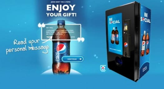 Vending Machines get Social!