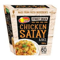 chicken satay 3d box