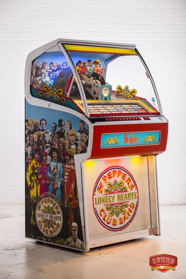 Sgt Peppers Vinyl Juke Box
