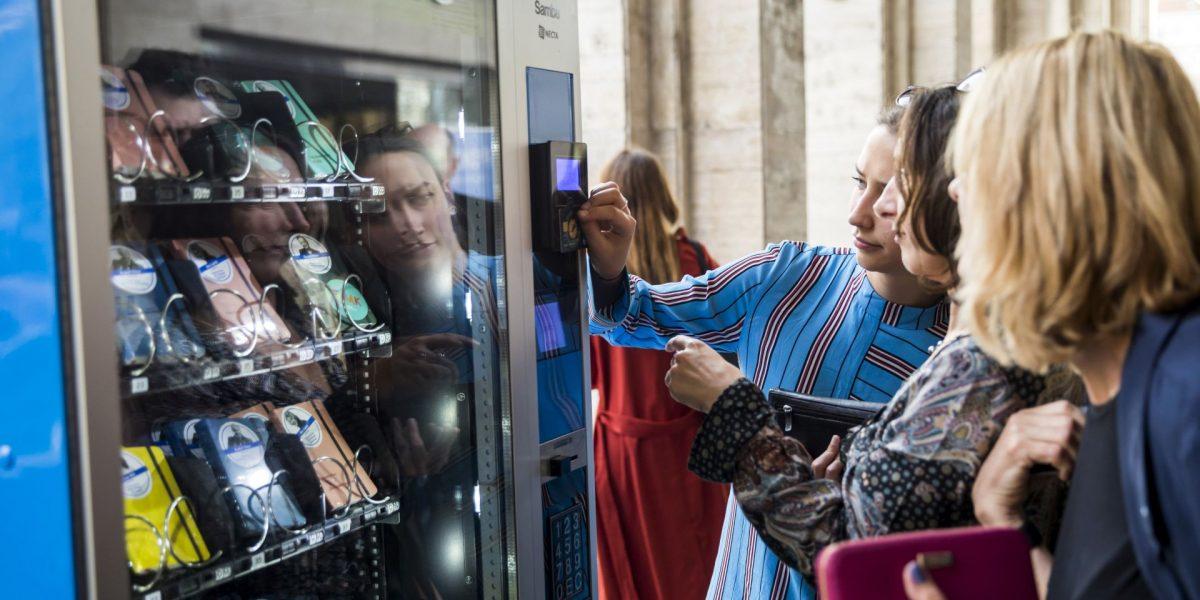 How customer judge a vending machine