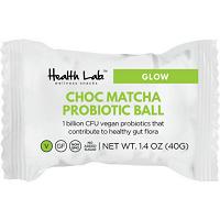 Choc Matcha Probiotic Balls