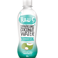 Raw C Sparkling Coconut Water Straight