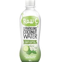Raw C Sparkling Elderflower Mint Lime Coconut Water