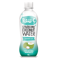 SPARKLING COCONUT WATER STRAIGHT UP