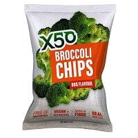 X50 BROCCOLI CHIPS BBQ FALVOUR