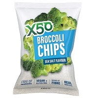 X50 BROCCOLI CHIPS SEA SALT FALVOUR