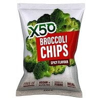 X50 Broccoli Chips Spicy Flavored