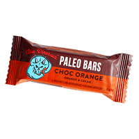 Choc Orange Paleo Bars - Blue Dinosaur