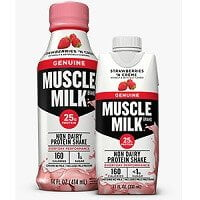 muscle milk strawberry and cream