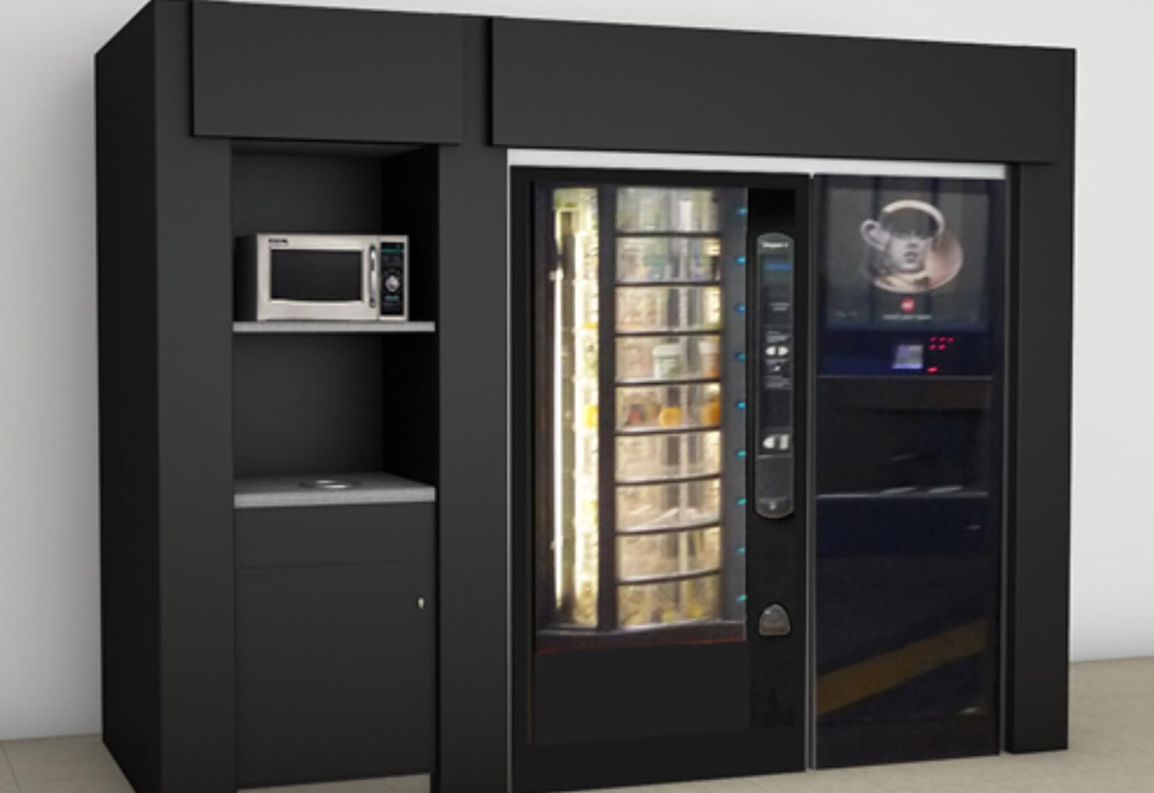 hot food Vending Machine Australia