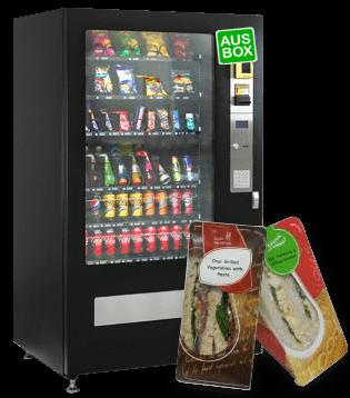 Free Fresh Food Vending Machine