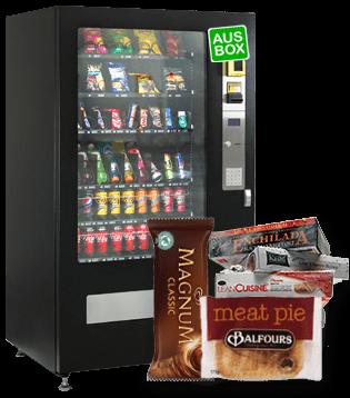 Free Frozen Food Vending Machine