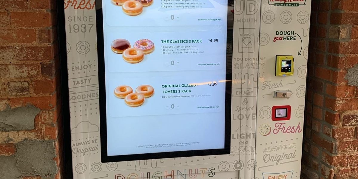 Desserts Vending Machine